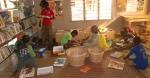 Espace enfants bibliothèque Kekeli