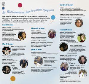 Programme du festival 2018