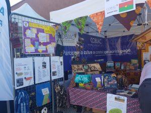 Le stand du COBIAC à Villeneuv'Africa