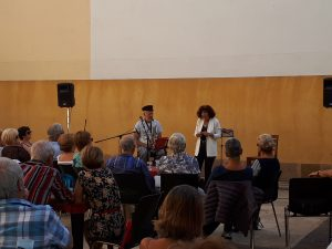 Lecture concert des Marins perdus par la Compagnie Coup d'Chapeau, Port de Bouc 14/09/2019