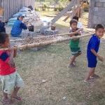 Enfants laotiens