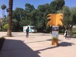 bibliobus à Marrakech