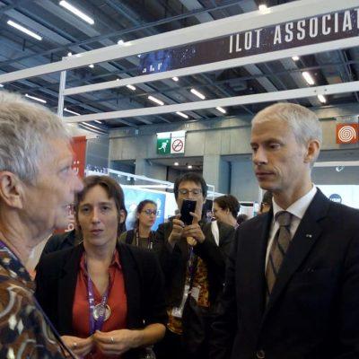 Congrès ABF 2019- Simonne Cesari avec Franck Riester