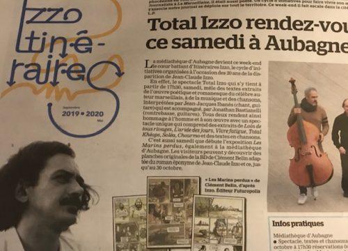 Article Total Izzo dans La Marseillaise
