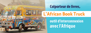 Affiche paysage African Book truck