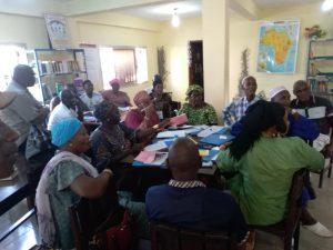 Atelier autour du livre Jeunesse_bibliothèque de Kaloum, Guinée