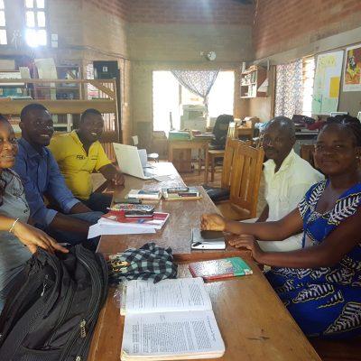 Formation_des_bibliothécaires, Sichem, Togo, 2019