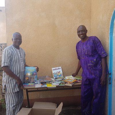Le Maire de Bama et le responsable projet-Burkina Faso-2019