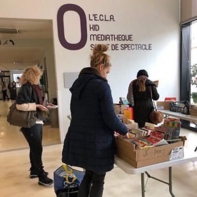 Vente de livres à Sorgues, Vaucluse