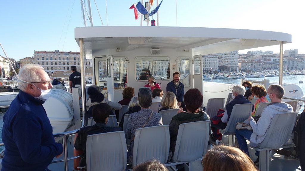 Balades maritimes et littéraires Sud 17-10-2020 - départ du Vieux Port