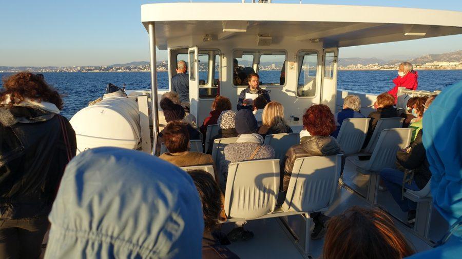 Balades maritimes et littéraires Sud 17-10-2020 - Lecture sur le pont supérieur
