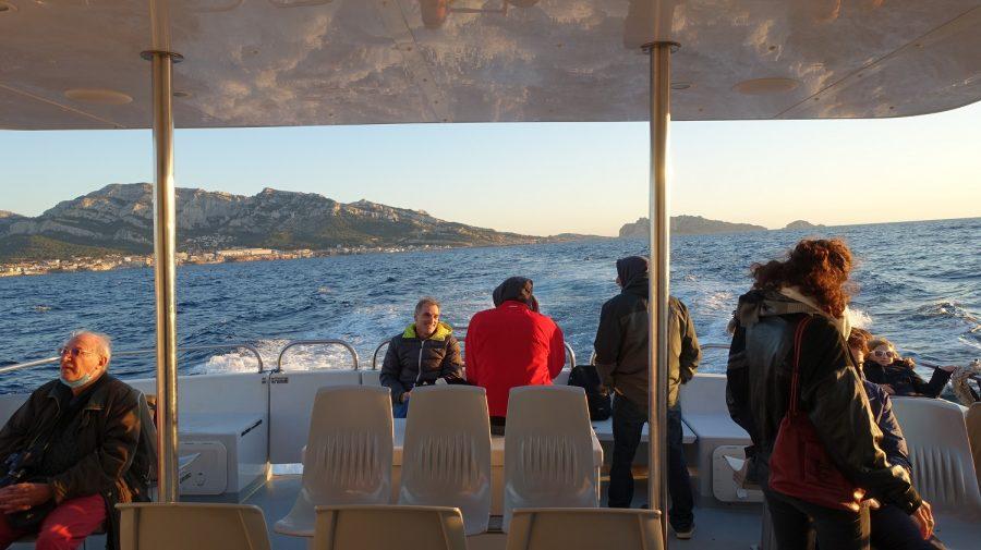 Balades maritimes et littéraires Sud 17-10-2020 - Dans la rade sud