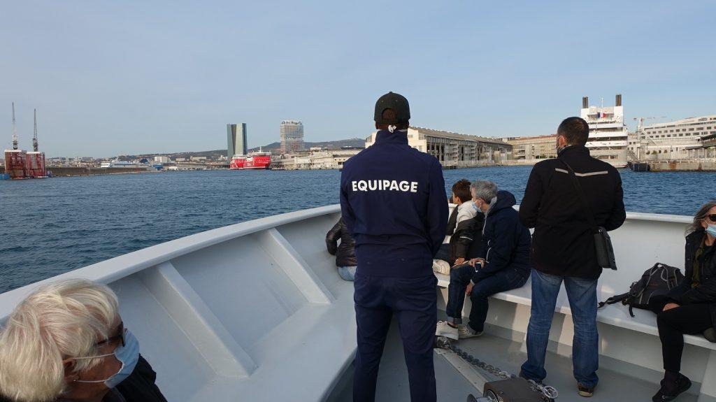 Balades maritimes et littéraires Nord 24-10-2020 - entrée dans le Port Autonome
