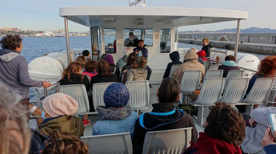 Balades maritimes et littéraires Nord 24-10-2020 - Lecture sur le pont supérieur