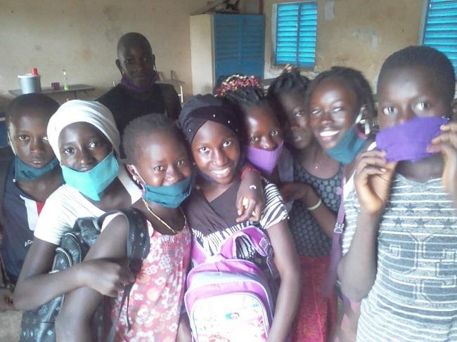 Sénégal 2020-07 - Enfants projet ISI 2020