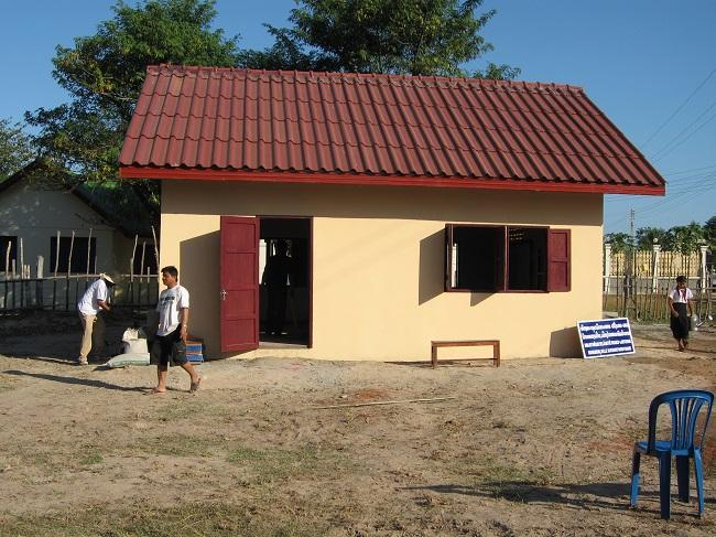 Laos-bibliothèque-de-village