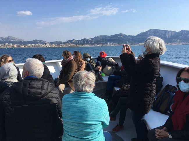 Balade maritime et littéraire Sud 20-03-2021- dans la baie
