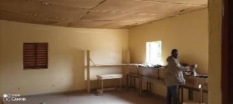 Salle de lecture de Kabadio, Sénégal