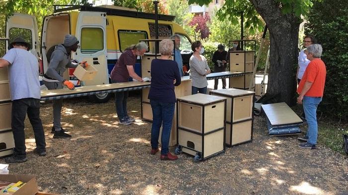 L'African Book Truck aux 2 Ormes-6-mai-2021