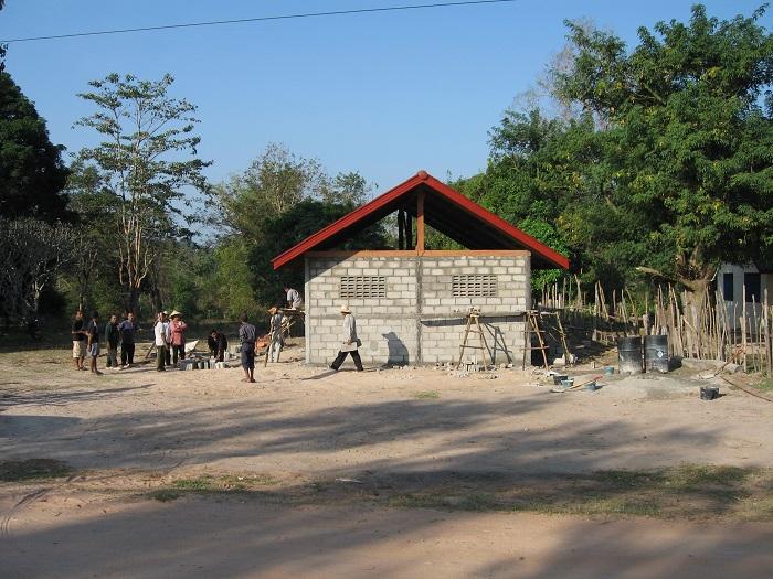 Construction Laos 2006 - murs