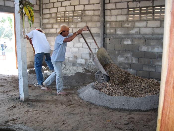 Construction Laos 2006 -dalle