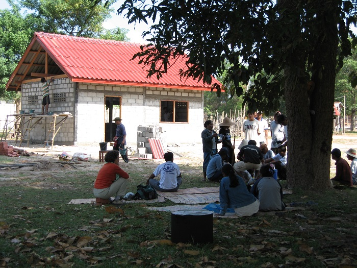 Construction Laos 2006 -murs-2